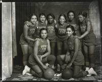 Councilman Laurence Payne's basketball team