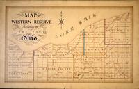 Map of the Western Reserve including the Fire Lands, Ohio