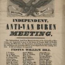 Independent anti-Van Buren meeting
