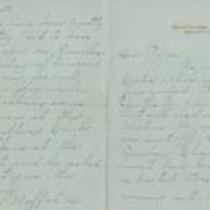 Letter from Helen to Charles Chesnutt