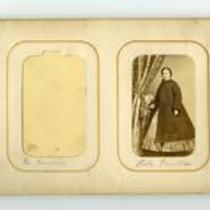 Photograph contained within carte de visite album