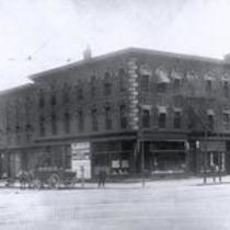 The American Dry Cleaning and Dyeing Co., at the corner of Detroit Ave., NW, and W. 25th Street