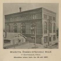 Budova Česko-Národní síně v Cleveland, Ohio