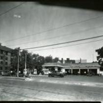 Alonzo Wright's SOHIO service station