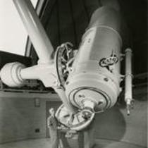Telescope and dome designed and built by The Warner & Swasey Co.