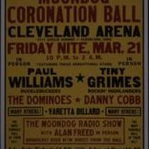 Moondog Coronation Ball poster