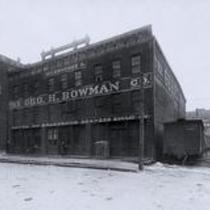 Geo. H. Bowman Co. warehouse, 1521 Merwin Street