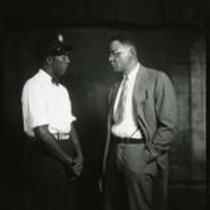 Jesse Owens and Alonzo Wright