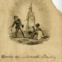 Partial Image of Membership in a Female Anti-Slavery Society for Anna Bailey