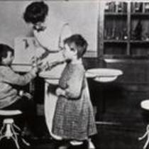 Children with nurse