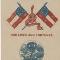 Southern Rights patriotic cards: State seal of South Carolina