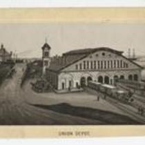 Railroad Depots Union 1880s