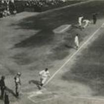 Jamieson, Wambsganss, and Speaker scoring in 1st inning