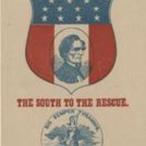 Southern Rights patriotic cards: State seal of Virginia