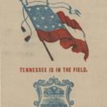 Southern Rights patriotic cards: State seal of Tennessee
