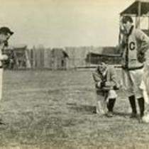 Postcard of baseball