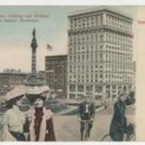 Williamson Building and Soldiers' and Sailors' Monument