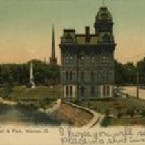City Hall & Park, Warren, Ohio