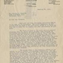 Letter from N.A.A.C.P. to Chesnutt