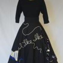 """I Like Ike"" Skirt, ca. 1952"