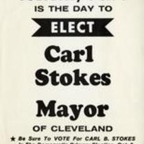 Tuesday, Oct. 3 is the day to elect Carl Stokes