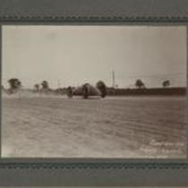 1902 Baker Torpedo Racer on track